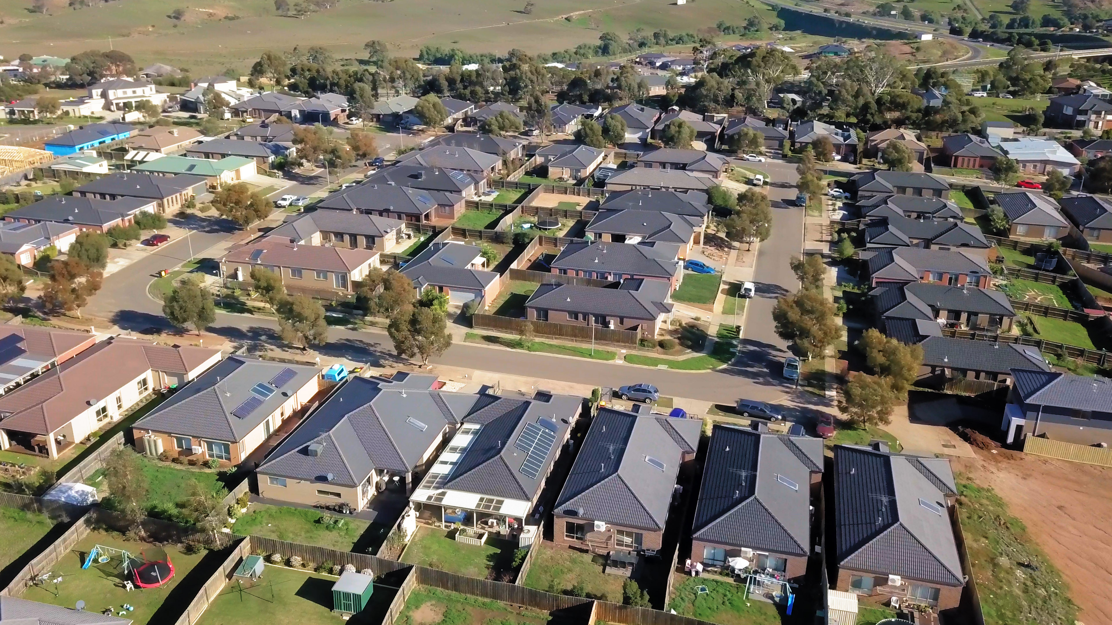 Urban Houses - Drone Videogprahy